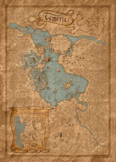 Temeria World Map - Bing Images