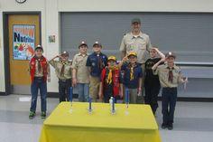Karl Gatke, Cub Scout Pack Leader\Hayden Gatke, tallest, blue shirt