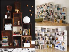 diybookshelves8 by apairandaspare, via Flickr   @Hannah Johnson