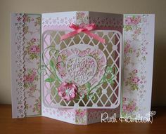 A Passion For Cards: Swing card tutorial Fancy Fold Cards, Folded Cards, Carte Swing, Tonic Cards, Swing Card, Step Cards, Shaped Cards, Card Making Tutorials, Pretty Cards