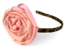 Wild Chic Ribbon Wrapped Metal Headband in Leopard by KandyShoppe, $8.00