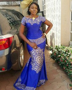 """1,043 mentions J'aime, 1 commentaires - Ms Asoebi (@ms_asoebi) sur Instagram: """"@nvoguehair lovely in Blue """""""