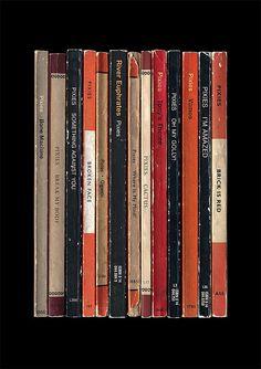 Pixies 'Surfer Rosa' Album als Penguin Books von StandardDesigns, £16.00