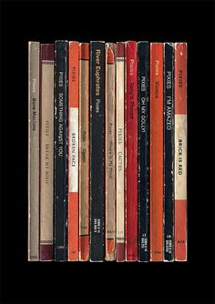 Pixies 'Surfer Rosa' Album As Penguin Books Poster Print Literary Print on Etsy, $25.37