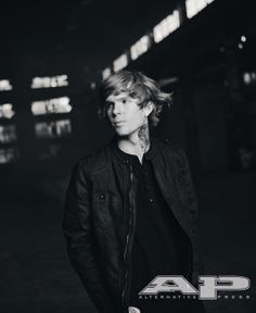 Alan Ashby from the Of Mice & Men feature in AP 308.  On sale now! (Photo credit: Jonathan Weiner)