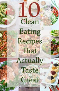 10 Clean Eating Reci