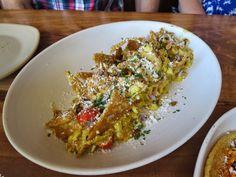 Chilequiles  San Francisco Eats - Brunch at Padrecito ~ Sidewalk Safari