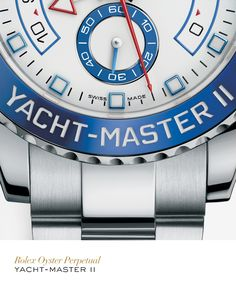 Rolex Yacht-Master II. #Yachting #RolexOfficial