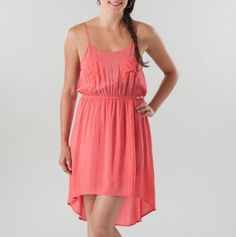 Hi Low Tank Dress With Pockets