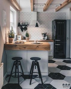 """Beautiful small cozy kitchen from project """"Poudre is designed. - Home Decor Stunning small cozy kitchen from mission """"Poudre is designed by SHOKO.design & Photograph by & Com. French Kitchen Decor, White Kitchen Decor, Home Decor Kitchen, Kitchen Interior, Home Kitchens, Cozy Kitchen, Kitchen Ideas, Kitchen Designs, Kitchen Island"""