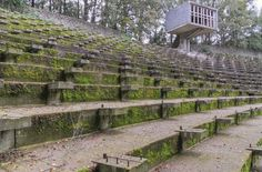 Abandoned Lichtenberg Open Air Theatre in Weert
