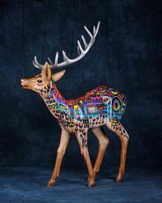 Custom Reindeer by Max Neutra