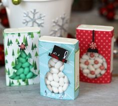 Handmade DIY Holiday Paper Gift Boxes and Tags! - Tatertots and Jello Handmade DIY Holiday Paper Gift Boxes and Tags Christmas Favors, Diy Christmas Cards, Christmas Fun, Candy Crafts, Christmas Projects, Holiday Crafts, Paper Gift Box, Paper Gifts, Gift Boxes