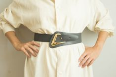 Love belts from the 80's. @hungryheartvintage @etsy