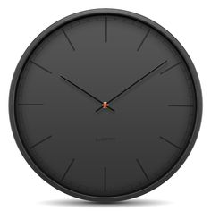 Leff Amsterdam; Clock; Black Index; Tone; Light & Tone