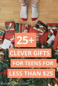If you have a hard time finding gifts for teenagers, check out this list of over 25 gifts that your teen will love. They are all under $25!