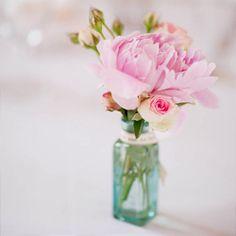 Perfectly pretty pink & aqua pastel wedding inspiration