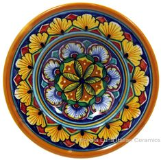 Ceramic Majolica Dipping Plate Green Orange 12cm Pottery Plates, Glazes For Pottery, Ceramic Plates, Ceramic Pottery, Pottery Art, Ceramic Art, Decorative Plates, Art Nouveau Tiles, Italian Pottery
