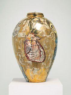 from Ceramic Art Perception -Grayson Perry Ceramic Pottery, Ceramic Art, Pottery Art, Contemporary Ceramics, Contemporary Artists, Grayson Perry, Online Scrapbook, Illustrator, China Art