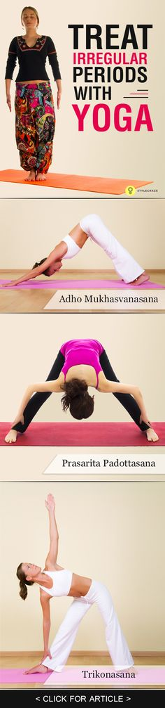 Yoga For Irregular Periods – 6 Effective Asanas
