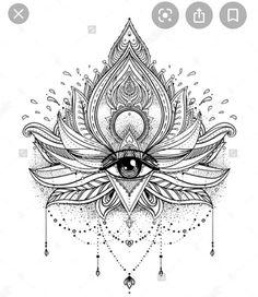Hamsa Tattoo, Henna Tattoo Hand, Hand Tattoos, Henna Tattoo Muster, Flower Tattoo Hand, Muster Tattoos, Lotus Tattoo, Sexy Tattoos, Flower Tattoos