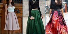 Las invitadas más chic van con falda a la boda. Larga, midi o mini, ¡encuentra tu estilo!