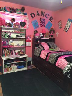 My 8yr old granddaughter's side of her & Her sister's room