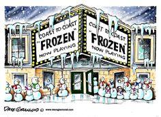 Dave Granlund on a 'Frozen' U.S.