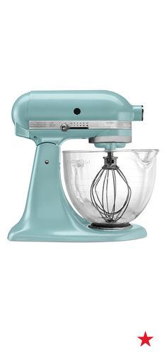 The KitchenAid stand mixer takes on any mixing job, including whipping up those ingredients for all of your summertime treats! Shop even more fun colors on macys.com!
