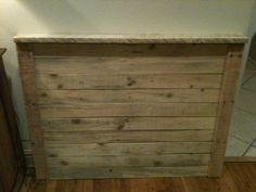 Twin pallet headboard- unfinished  https://www.facebook.com/LHPalletCreations