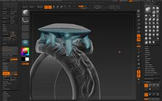 2014-11-13 Jewelry Design in ZBrush with Tomas Wittelsbach Preview