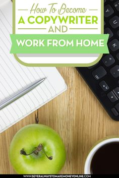 Learn how to become a copywriter and work from home. Find a list of websites providing copywriting jobs online.