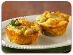 Easy Mini Chicken and Broccoli Pies with Healthy Substitutions and Leftover Ideas.