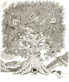 Hand Illustrated Family Trees...