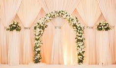 An Elegant Wedding at The Fullerton Hotel: Ryan + Jessica Wedding Stage Backdrop, Wedding Photo Booth, Wedding Reception Decorations, Wedding Venues, Wedding Designs, Wedding Styles, Wedding Ideas, My Perfect Wedding, Dream Wedding