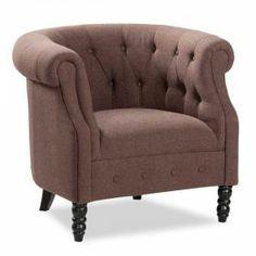 Ogden Brown Tub Chair