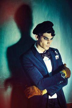Maico Santos Darkens the Mood for Glam Lelaki