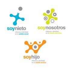 Soy yo - NGO - Branding by Mauro Lorenzo, via Behance