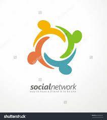 Image result for social network logo design