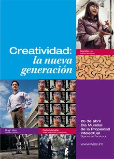 26 Abril : Día Mundial de la Propiedad Intelectual / April 26: World Intellectual Property Day