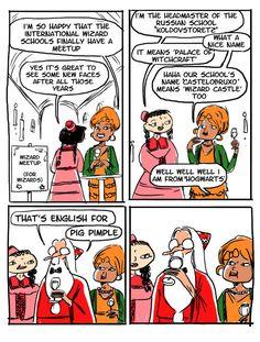 disney is a wizard harry potter Dumbledore Comics, Harry Potter Comics, Harry Potter Jokes, Harry Potter Fan Art, Harry Potter Universal, Harry Potter Fandom, Harry Potter World, Albus Dumbledore, James Potter