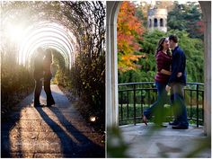 Longwood Gardens Engagement: Kristen and Todd