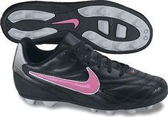 best sneakers 156b1 71fe1 Nike JR Premier III FG-R Youth Soccer Cleats - Black   Silver   Rose