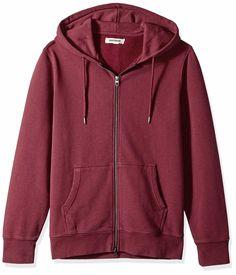 Amazon Brand - Goodthreads Men's Fullzip Fleece Hoodie #amazon #amazonprime #primeday #affiliate Amazon Prime Day Deals, Mens Sweatshirts, Hoodies, Mens Fashion Magazine, Fleece Hoodie, Fashion Wear, Hooded Jacket, Clothes, Shopping