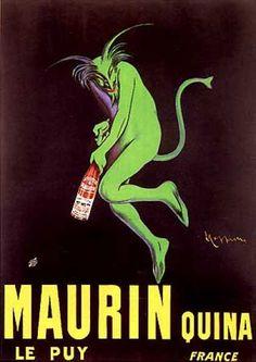 Leonetto Capiello poster Alcohol Adds of the 1900's
