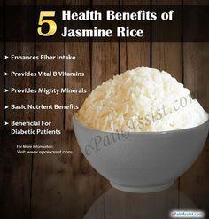 5 Health Benefits of Jasmine Rice - Paleo Dieet 2019 Calendula Benefits, Lemon Benefits, Health Benefits, Health Tips, Benefits Of Rice, Heart Attack Symptoms, Tomato Nutrition, Stomach Ulcers, Jasmine Rice