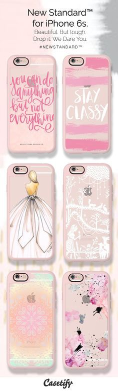 Pretty in Pink. THIS is the phone case your new Rose Gold iPhone 6S will need. Shop them now: http://www.casetify.com/artworks/0IAOLdY6G8
