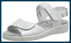 Semler Damen Dunja Sandalen, Weiß (Weiss), 37 EU - Sandalen für frauen (*Partner-Link)
