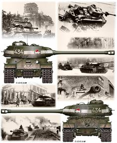 Engines of the Red Army in WW2 - IS-2 PolarBear