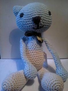 gatito Saponeto Diseños Tejidos